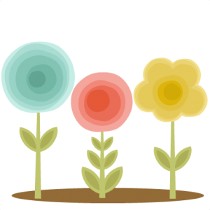 Flowers Group SVG cutting files doodle cut files for