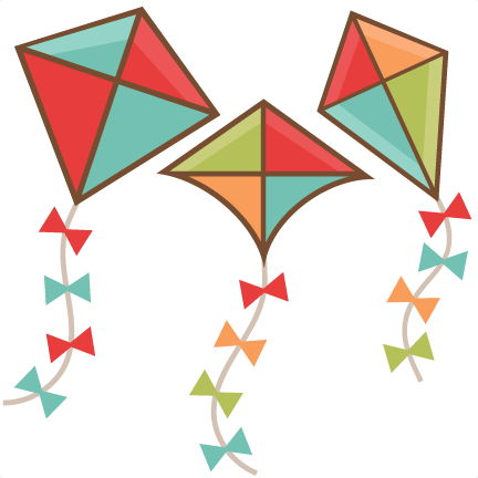 kite set svg scrapbook cut file