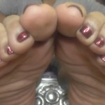 Feed your ebony foot fetish with Miss Kayla Black's perfect size 10 feet.