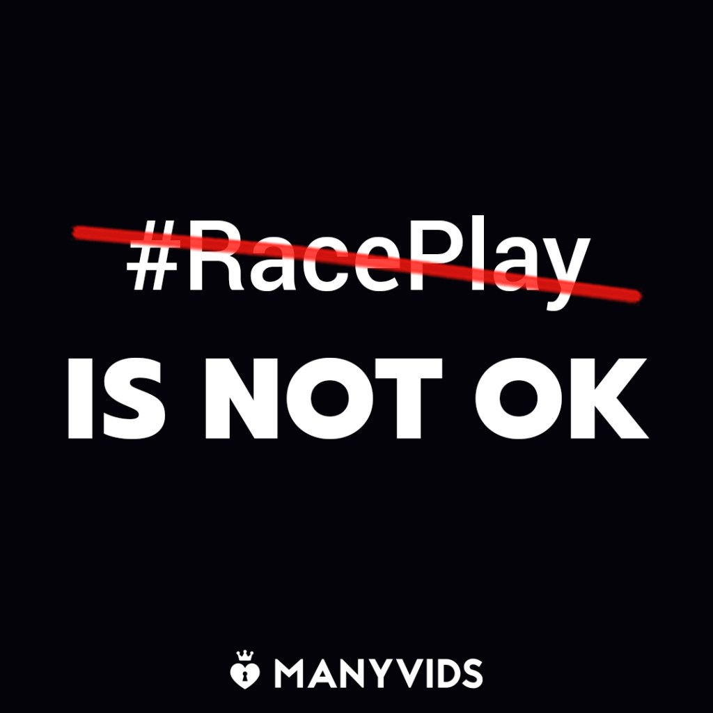 ManyVids, an adult clips website, takes a stand on race play