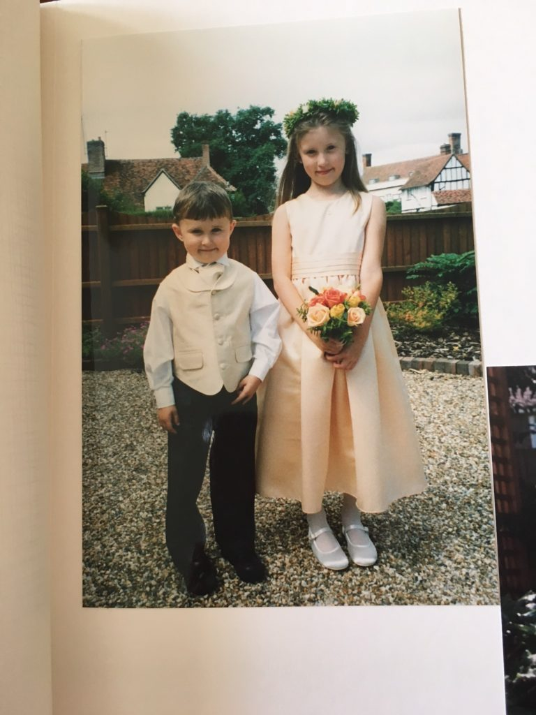 Me and my little brother 15 years ago