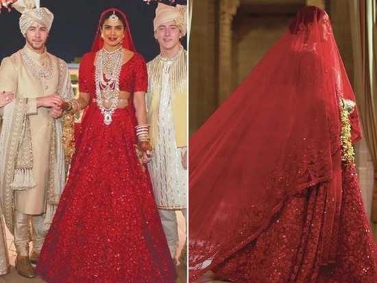 Image result for priyanka chopra lehenga