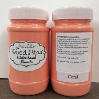 Wood Stain - Coral