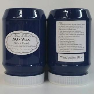 Chock Paint - Winchester Blue - Chalk Style Paint - Chalk Paint