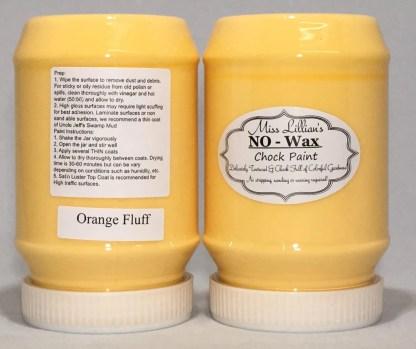 Chock Paint - Orange Fluff
