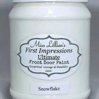 Front Door Paint - Snowflake