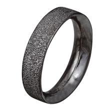 Ασημένιο δαχτυλίδι 925 βαθμών σε μαύρο χρώμα