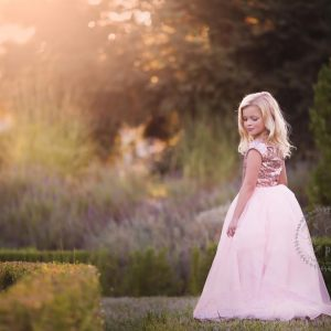 girls sequin dress, girls sparkly gown, flower girl, birthday, milestone, photography, photoshoot