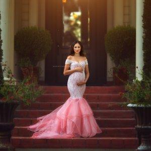 elegant maternity dresses