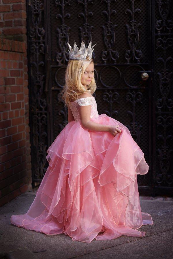 girls formal gown, Brooklyn Girls Gown, Flower Girl Dress, Princess Dress, mommy & me