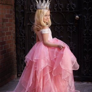 girls formal gown, Brooklyn Girls Gown, Flower Girl Dress, Princess Dress, mommy & me
