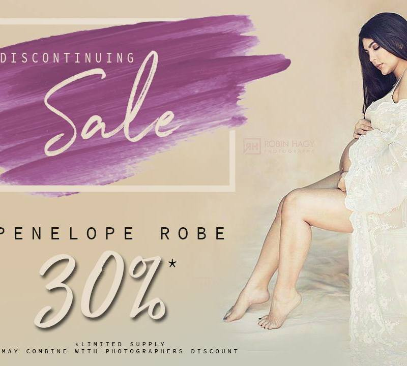 Penelope Maternity Robe Discontinued Sale