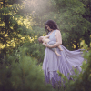 Ombre Chiffon, maternity dresses for photoshoot, maternity dresses for photography, baby shower dresses, maternity gown, halter, chiffon, ombre, jersey,