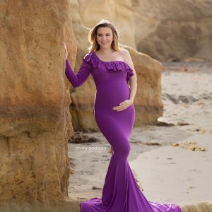 pregnancy gowns, baby shower dresses, long sleeve maternity dress, maternity dress for a photo shoot, maternity photo shoot, flounce top Maternity Dress , Maternity gown for photoshoot, maternity dress for photography, baby shower, fitted maternity dress