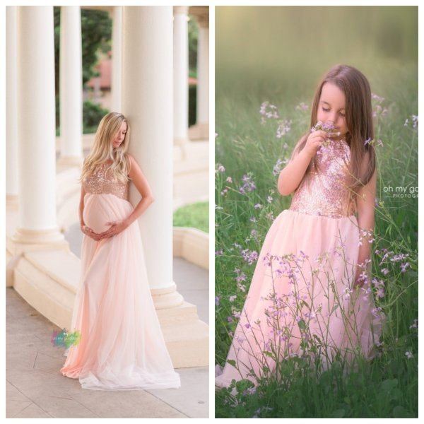 maternity dresses for photoshoot, maternity dresses for photography, baby shower dresses, maternity gown, mommy and me set