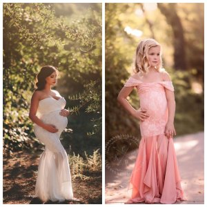 maternity dresses for photoshoot, maternity dresses for photography, baby shower dresses, maternity gown, fitted, jersey, mommy and me set