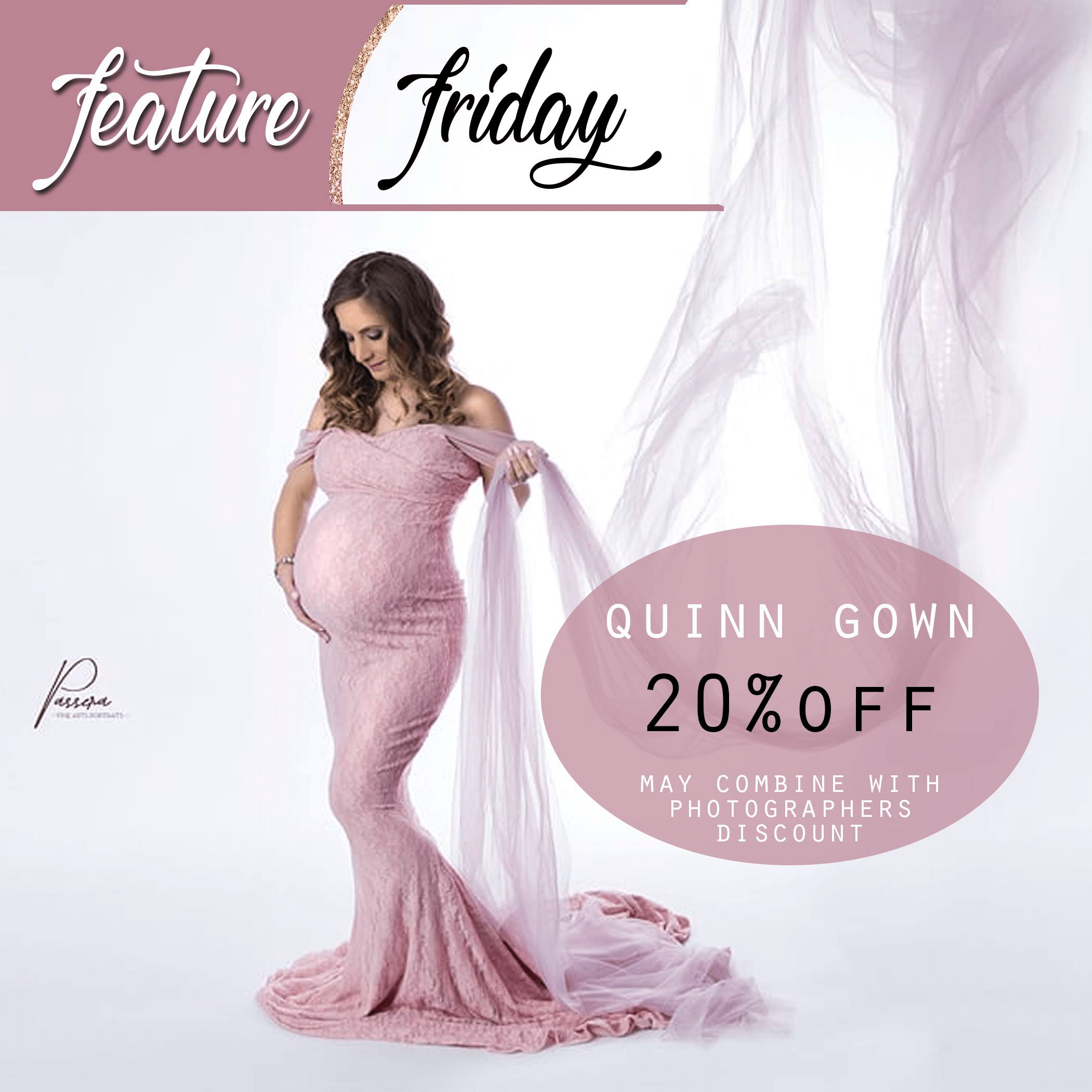 maternity gown, maternity dress, sale, discounted lace dress, sexy maternity dress