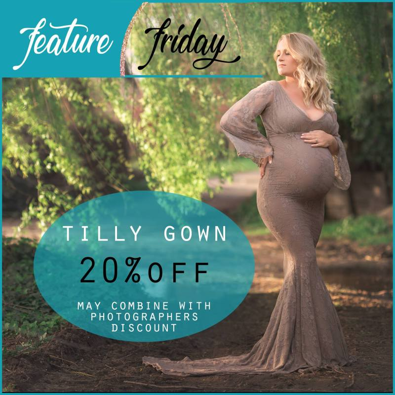 Feature Friday | Tilly Maternity Gown