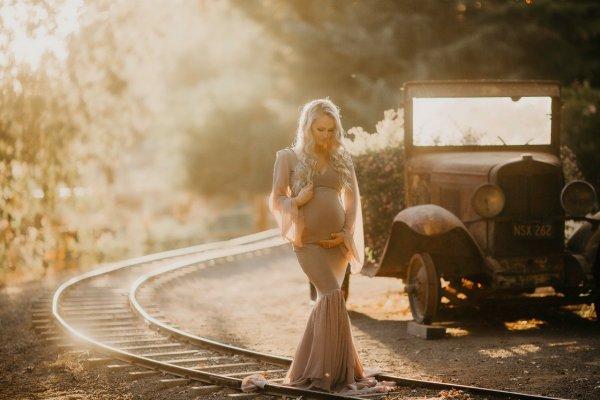 full sleeve maternity dress, tiered chiffon fitted maternity dress, bridesmaid dress, gown, maternity gown, maternity dress, photography photo shoot, baby shower dress, maternity holiday dress, elegant dress