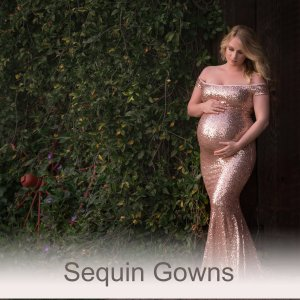 Sequin Gowns
