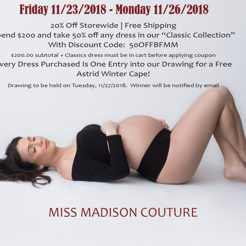 Miss Madison Black Friday | Small Business Saturday | Cyber Monday