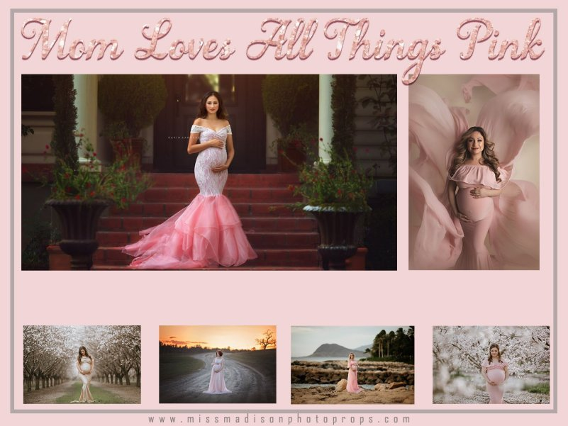 pink maternity gown, maternity dress, photography, photoshoot, bridesmaid, mommy and me, mothers day sale