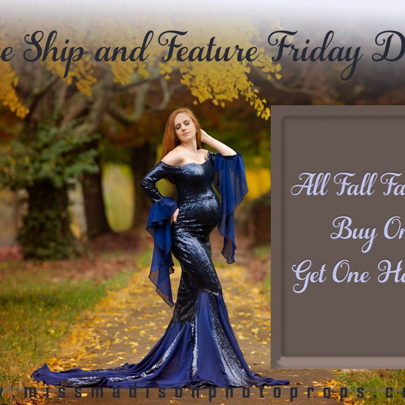 Free Ship & Feature Friday