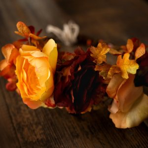 Flower crown, headwreath, maternity flower crown, fall flowers