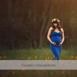 Classic Maternity Gowns for Photoshoots Collection