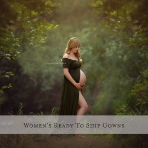 RTS Maternity Gowns For Photoshoots