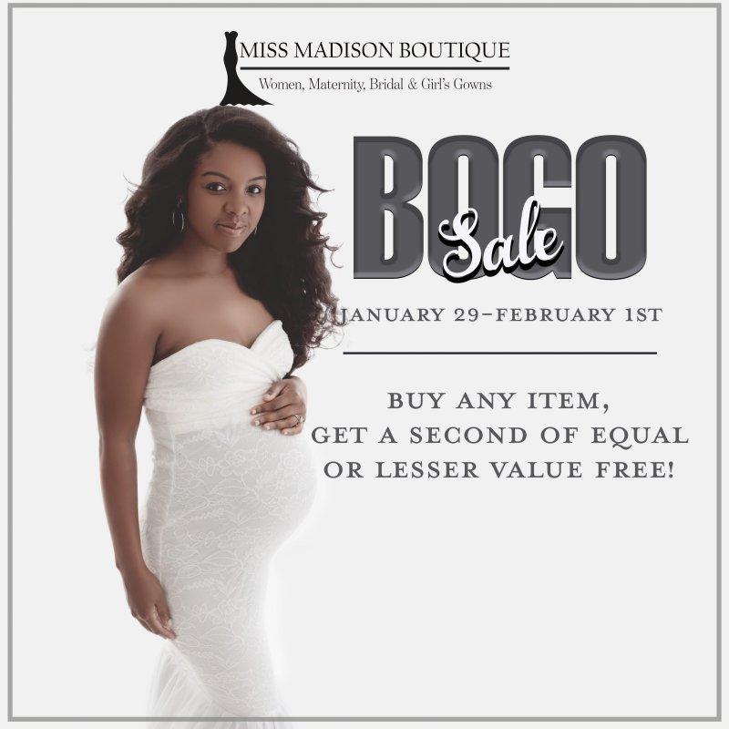 BOGO Sitewide Sale 1/29-2/1