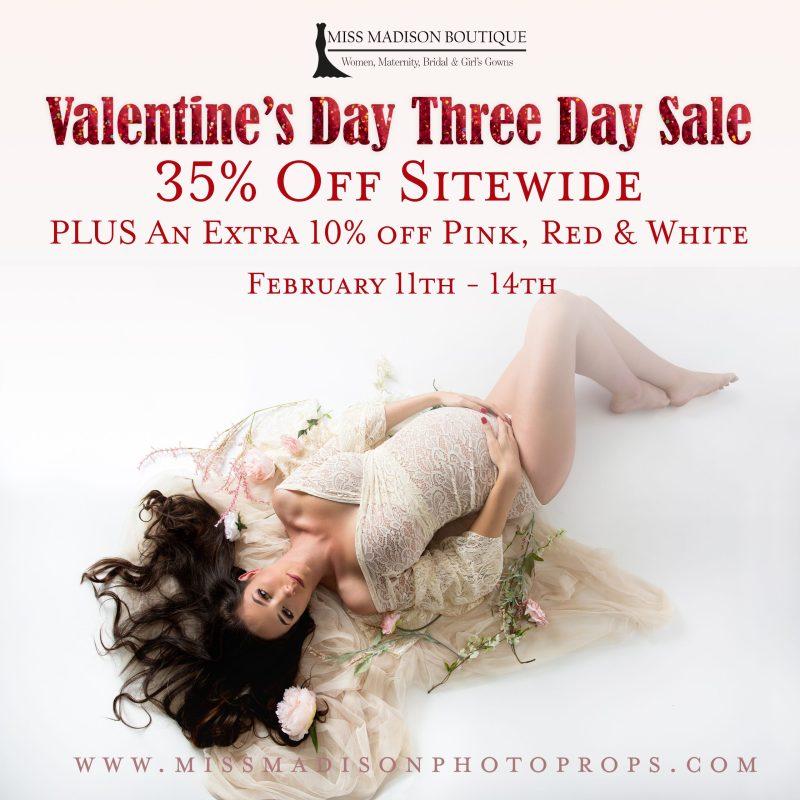 Valentine's Day Sale Begins Today