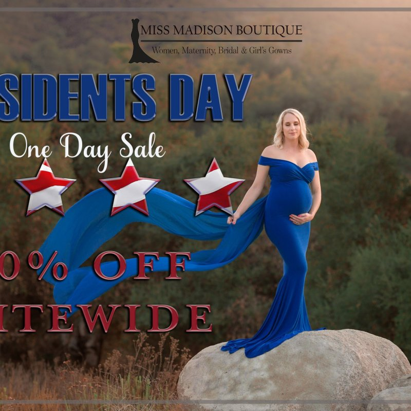 President's Day One Day Sale