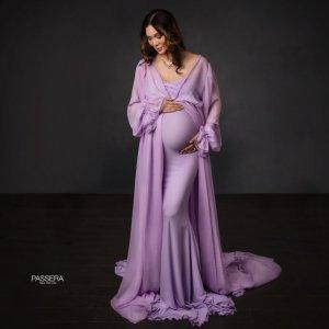 kimono, maternity gown photography, maternity dress photoshoot, baby shower dress