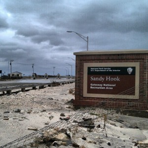 Sandy Hook Sign by USNavy13@Instagram