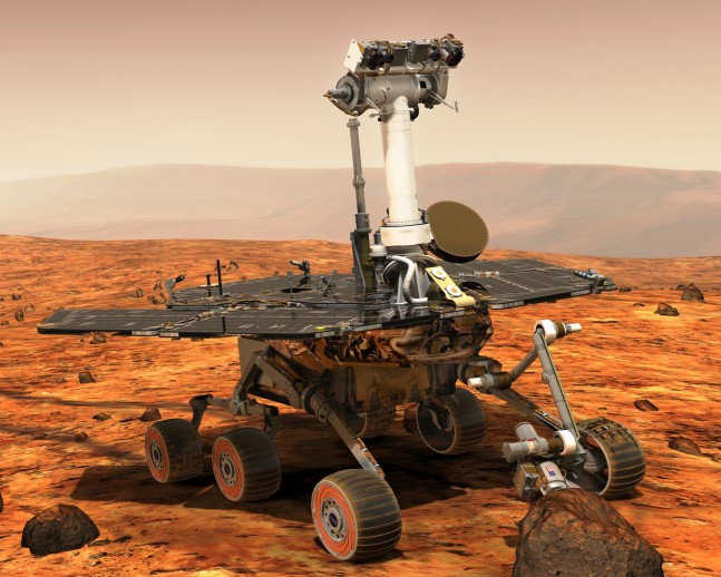 Opportunity Knocks: (The Mostly True History of a Young Rover on Mars)