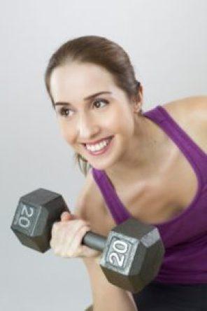 exercising 101 dumbells