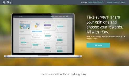 Ipsos I-Say survey sites