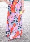 Bright, summery floral maxi dress from Ann Taylor LOFT.