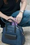 Leather Vera Bradley Bag