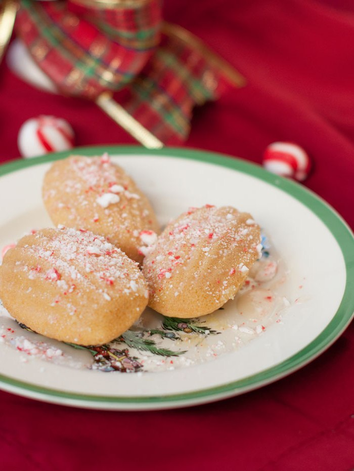 Christmas Cookies Recipe: Peppermint Madeleines