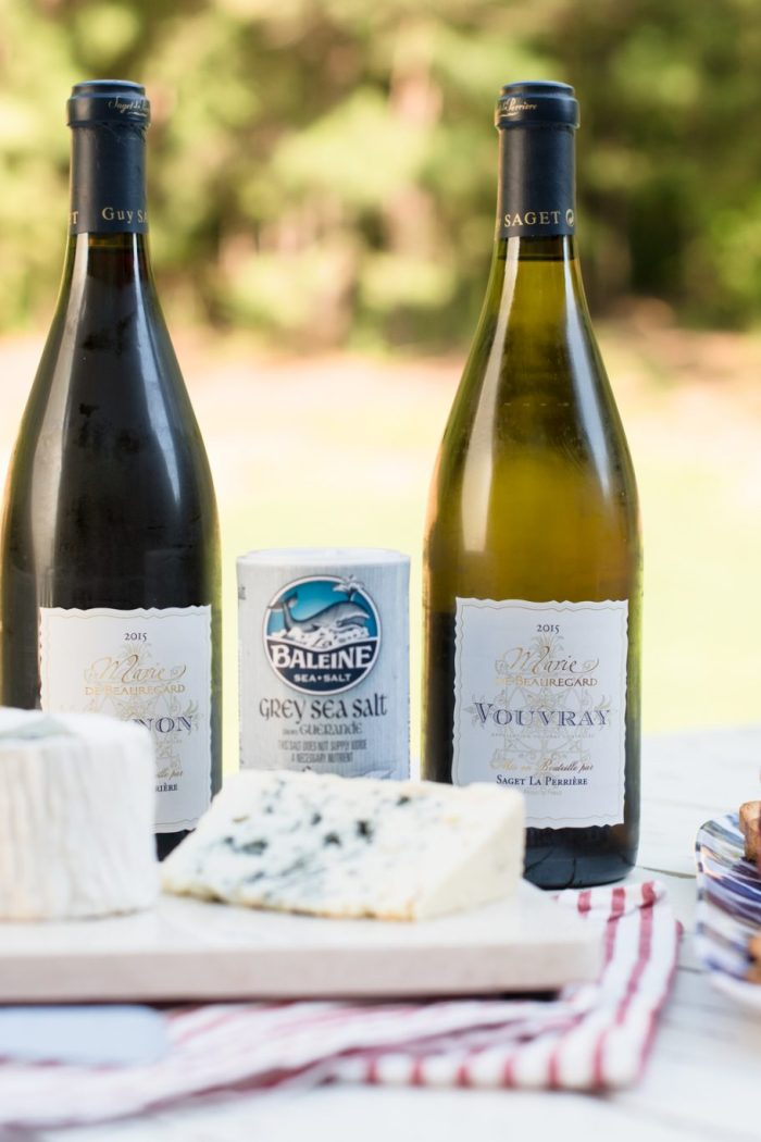 French Wine + Cheese on a Summer Night