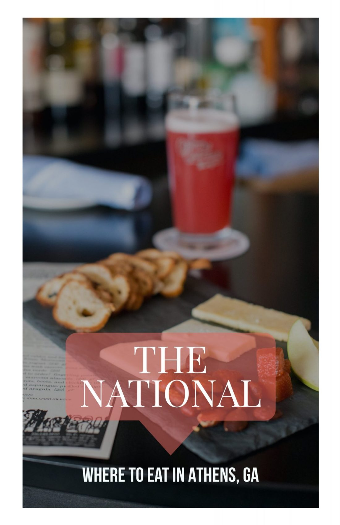 Where to Eat in Athens, GA: The National // Miss Molly Moon