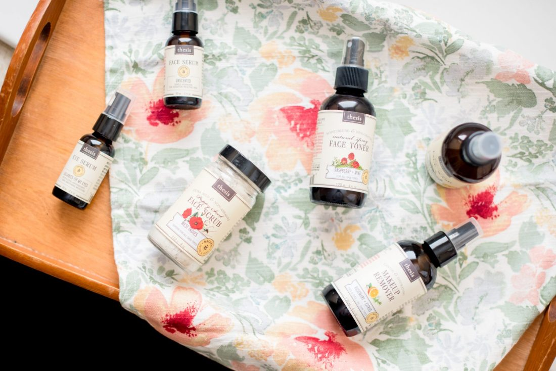 Natural Skincare Products from Thesis Beauty // Miss Molly Moon   Thesis Beauty review featured by top Atlanta beauty blogger, Miss Molly Moon