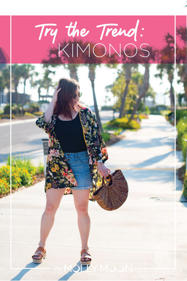 Try the Trend: Kimonos // Miss Molly Moon