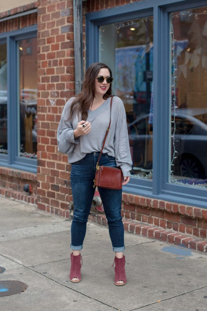 Try the Trend: Slouchy Thermal Tops