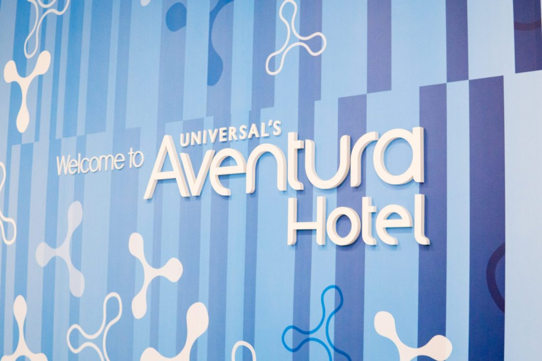 A Weekend at Universal's Aventura Hotel // Miss Molly Moon | Universal's Aventura Hotel review featured by top US travel blogger, Miss Molly Moon