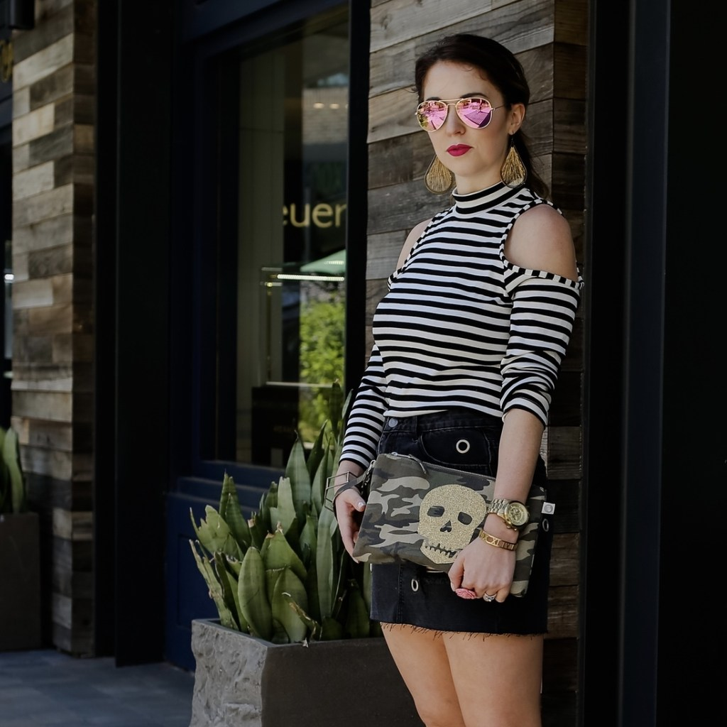 Casual and Edgy Spring Look