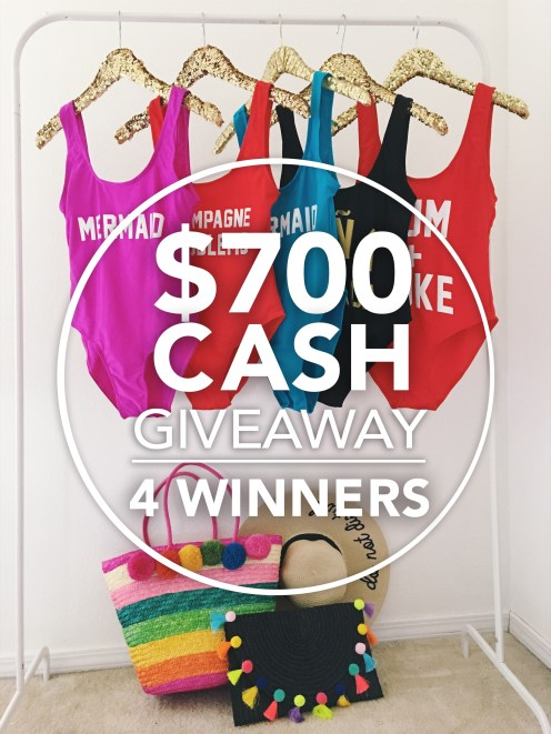 $700 Giveaway
