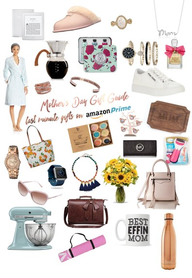 last minute mother's day gift guide